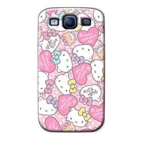 Forros Samsung Galaxy S3 S4 S5 S6 S7 Mini Edge Plus Kitty