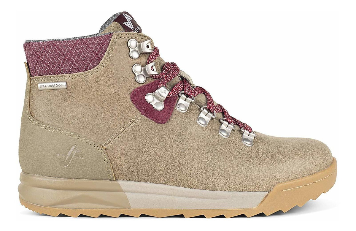 Womens Waterproof Premium Leather Hiking Boot Forsake Patch