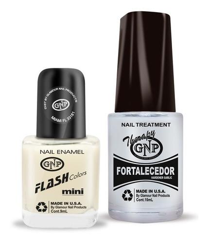 fortalecedor de ajo y esmalte gnp 9ml via lactea