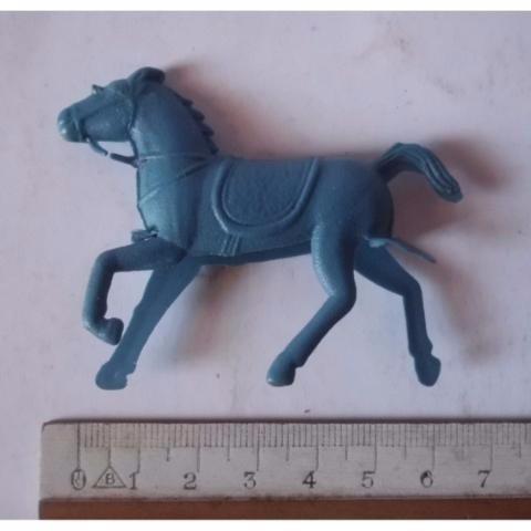 forte apache - cavalo - fazendinha - azul