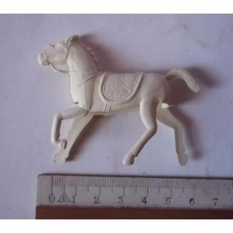 forte apache - cavalo - fazendinha - branco