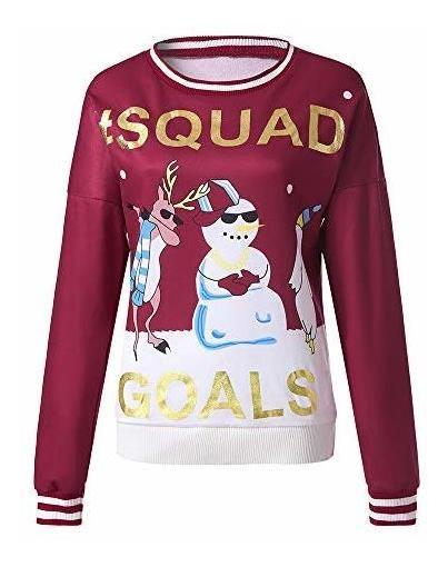 Forthery Christmas Hoodies,Women Cartoon Snowman Xmas Sweater Coats Print Sweatshirt Pullover Hoodie Tops