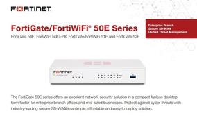 Fortinet Fortigate-50e 1 Year 8x5 Forticare