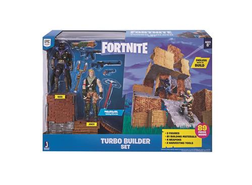 fortinite playset turbo builder com 2 bonecos sunny 2060