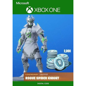 Fortnite -dlc- Rogue Spider- Knight Bundle 2000vbucks
