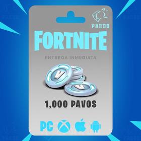 Fortnite 1000 Pavos - Global - Digital Pardo