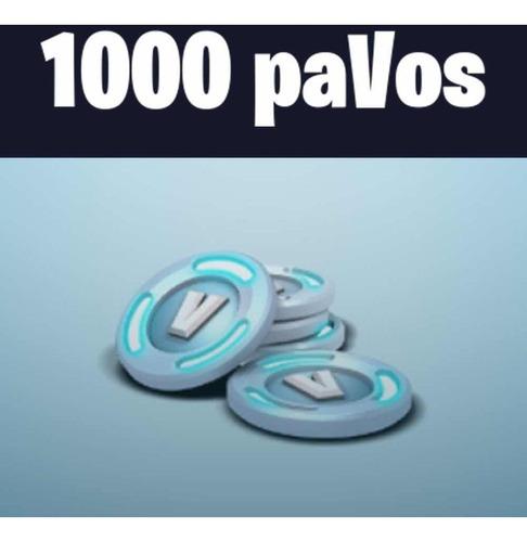 fortnite 1000 pavos en tu cuenta personal/ pc-ps4-xbox-cel