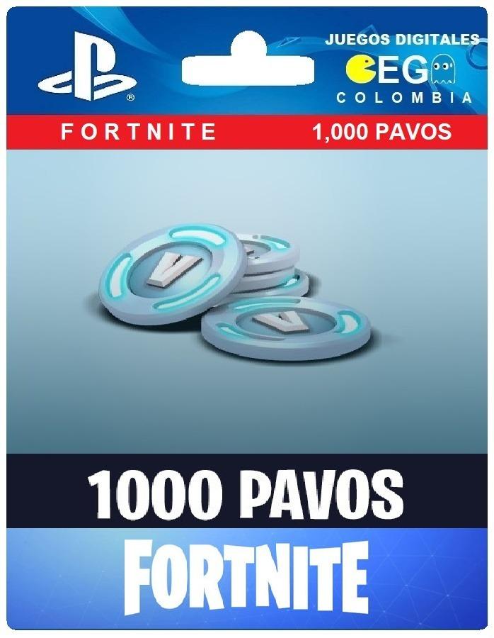 fortnite 1000 pavos ps4 cargando zoom - tienda de fortnite pavos ps4