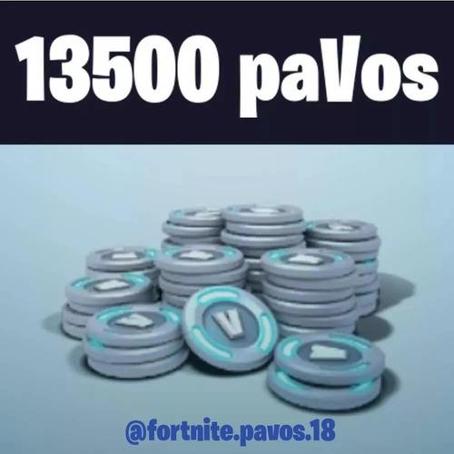 fortnite 13500 pavos - todas las plataformas - hay stock