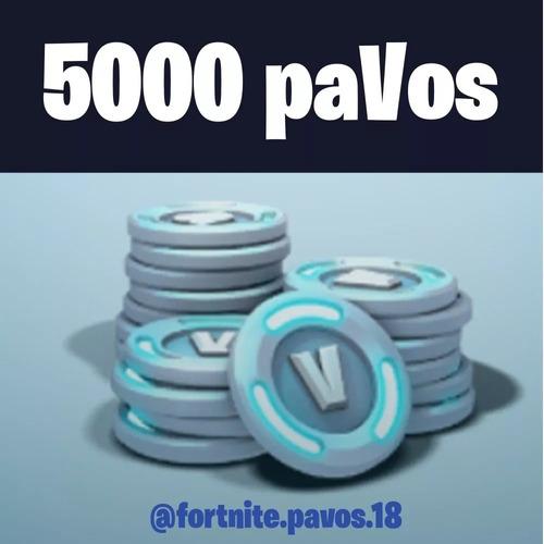 fortnite 5000 pavos - todas las plataformas - hay stock