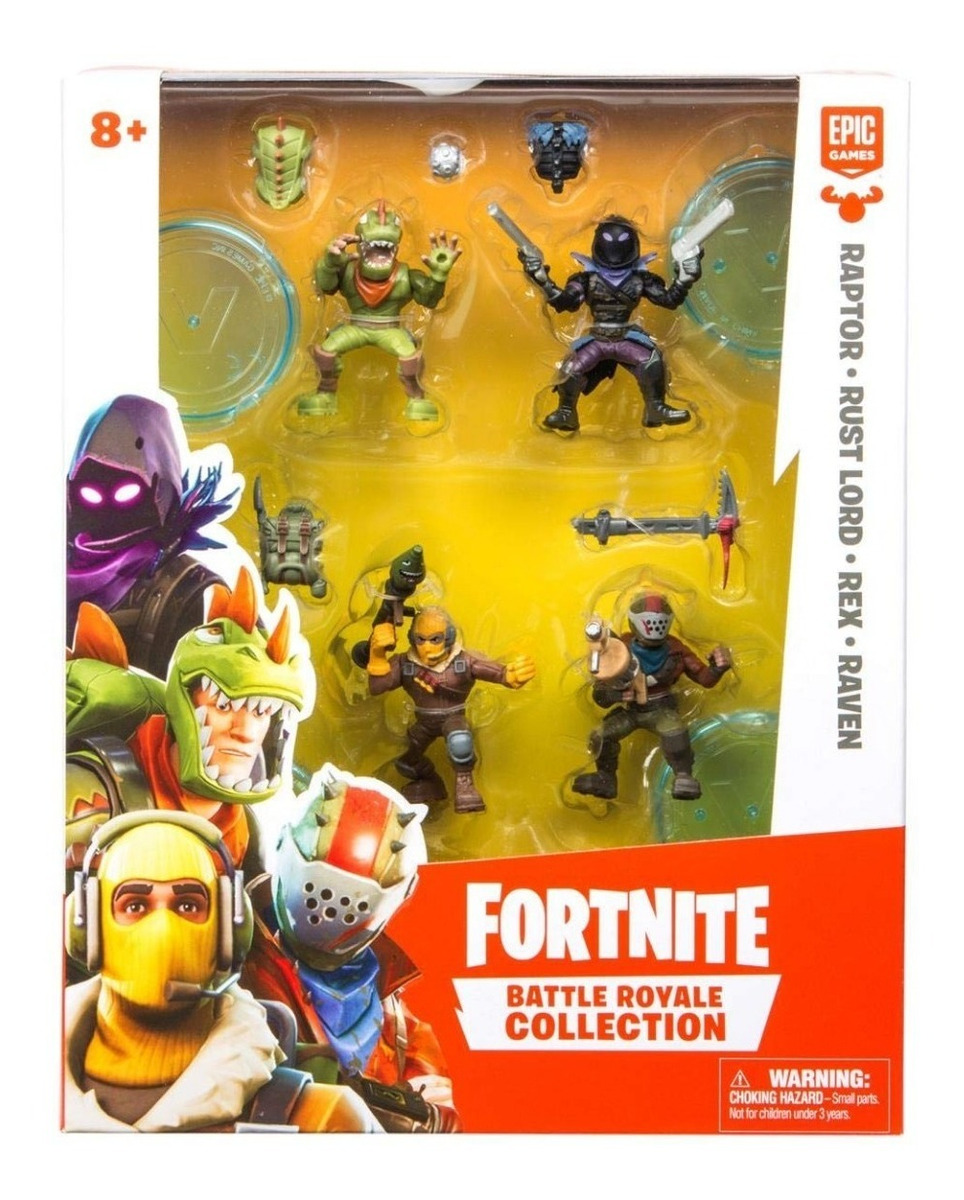 Fortnite Battle Royale Collection 4 Action Figure Squad Pac