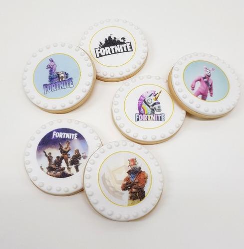 fortnite cookies/galletitas con imagen comestible