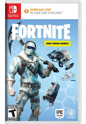 fortnite deep freeze bundle nintendo switch envío gratis