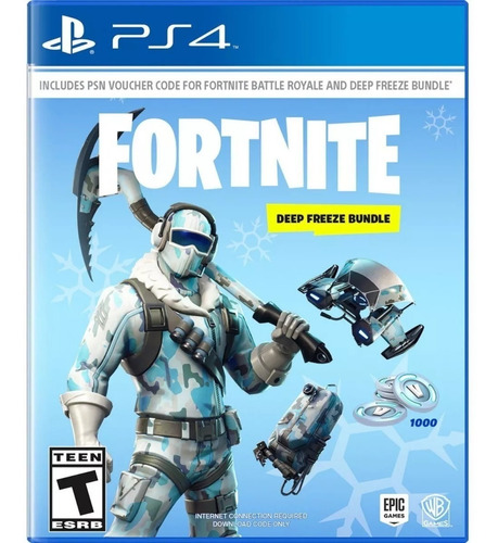fortnite deep freeze ps4 original envio gratis jazz pc