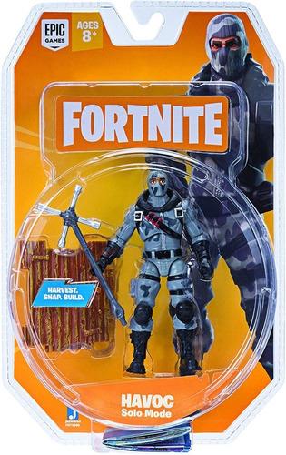 fortnite figura de havoc articulada 10 cm itm fnt0096