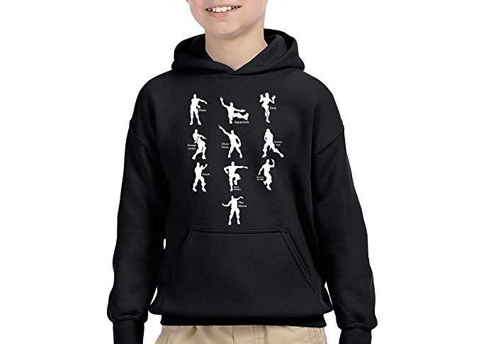 Fortnite Fresh Tees Funny Emote Dances Youth Hoodie