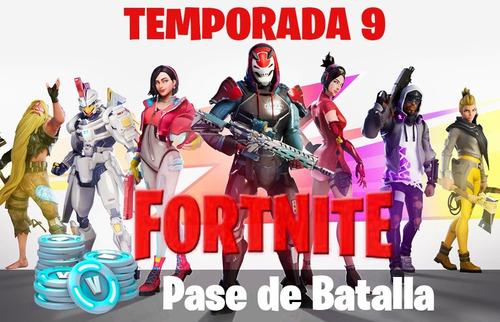 fortnite pase de batalla temporada 9 - pc - ps4 - xbox