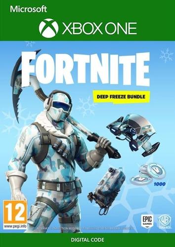 fortnite pase deep freeze bundle código xbox one