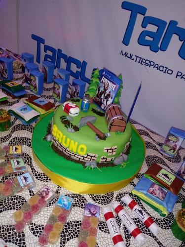 fortnite ps4  torta infantil