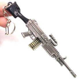 Fortnite Pubg Free Fire Dije Llavero M249 Rifle Militar