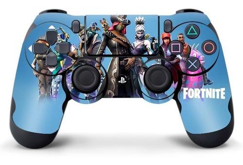 fortnite skin adhesivo play 4 + 2 joysticks ploteo calco ps4