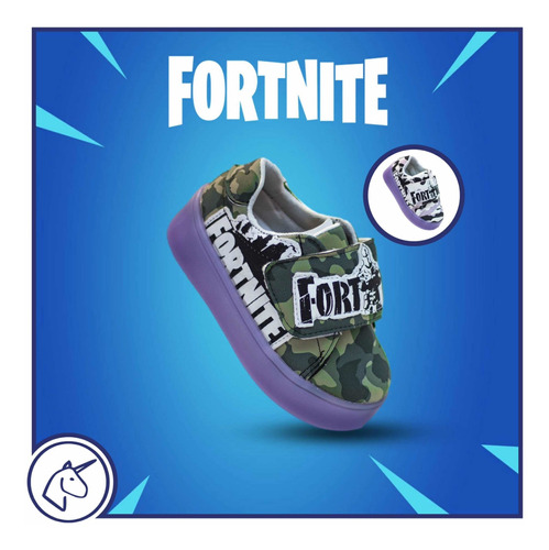 fortnite suela led teni soldado