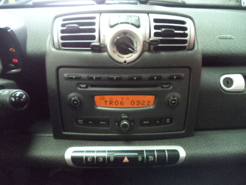 fortwo coupe 1.0 automatico 2010 /2010 prata completo teto