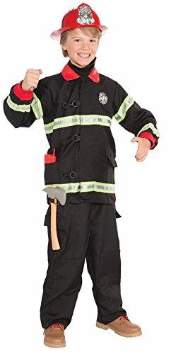 forum novedades traje de bombero conjunto de accesorios, tam