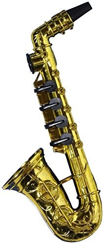 forum novelties gold saxophone party kazoo play musical inst