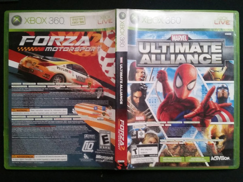forza 2 motorsport / ultimate alliance