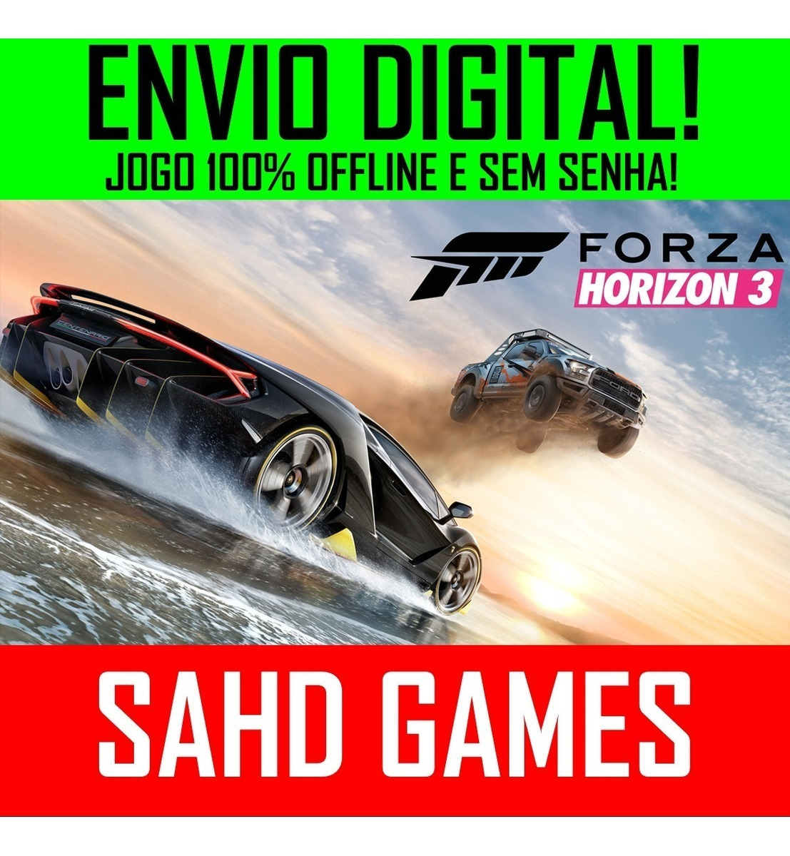 Forza Horizon 3 Pc +1 Jogo