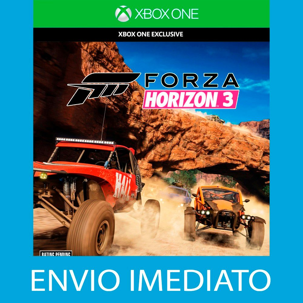 forza horizon 3 xbox one imediato r 73 90 em mercado livre. Black Bedroom Furniture Sets. Home Design Ideas