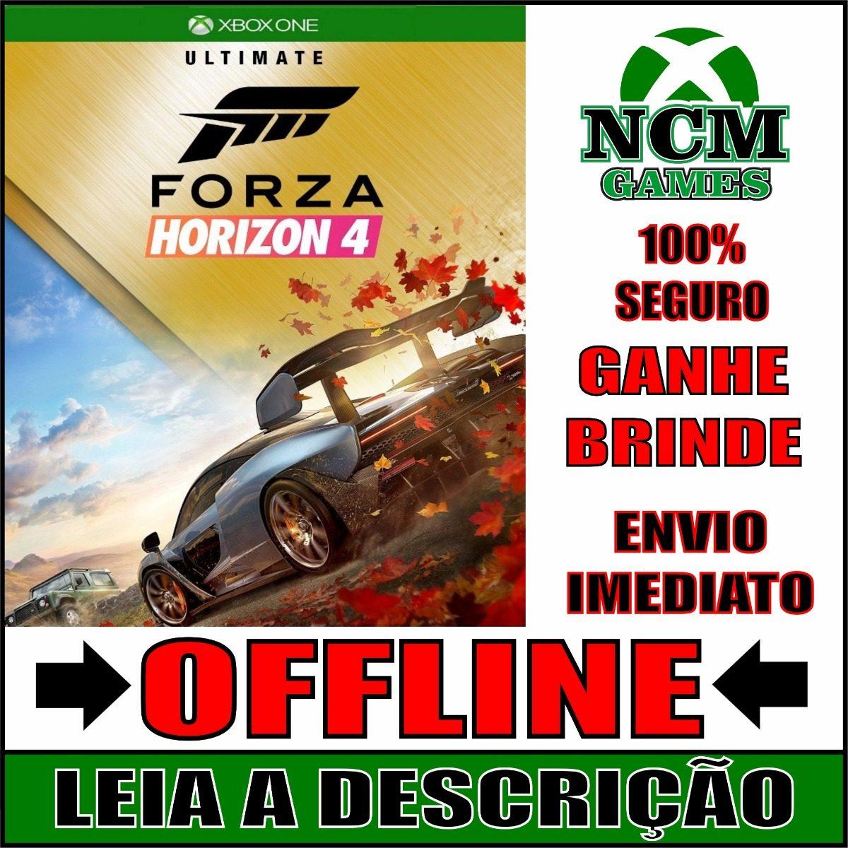 Forza Horizon 4 Edição Suprema Xbox One Offline + Brinde