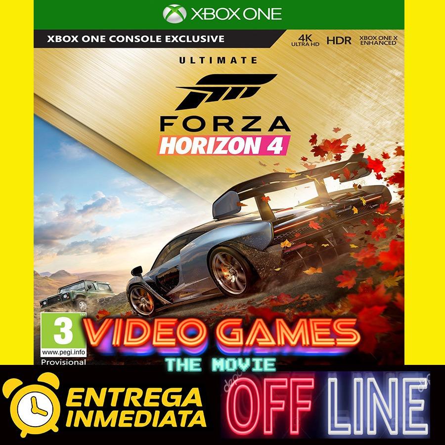 Forza Horizon 4 Ultimate Edition Xbox One Offline No Código