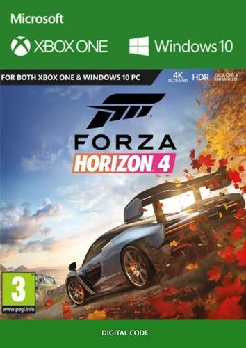 forza horizon 4 xbox one codigo digital