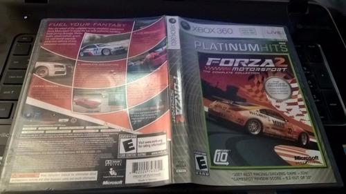 forza motorsport 2 - edición de 2 discos xbox 360
