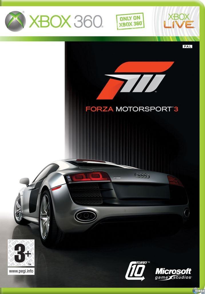 Forza Motorsport 3 Carreras Juego Xbox 360 Liquidacion Cgba 677