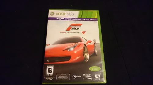 forza motorsport 4 2011 kinect con cd descarga de contenidos