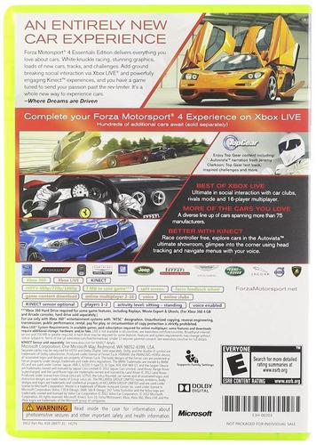 forza motorsport 4 essentials edition pp