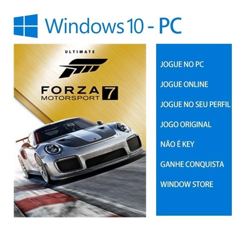 Forza Motorsport 7 Ultimate - Suprema Pc Windows 10 Online