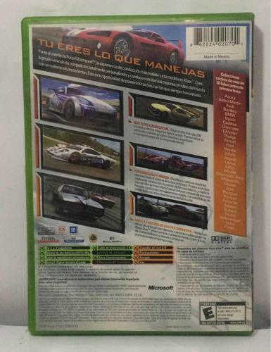 forza motorsport juego xbox