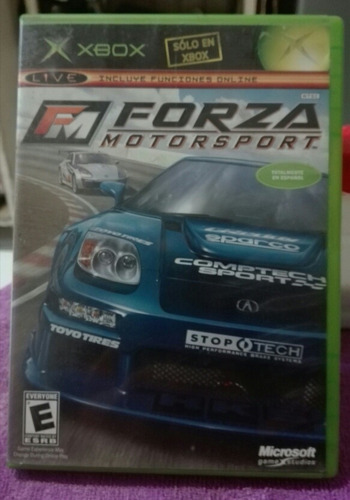 forza motorsport xbox clasico