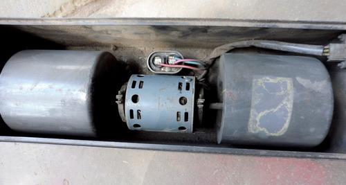 forzador de aire con 2 turbinas,motor de 1/10hp