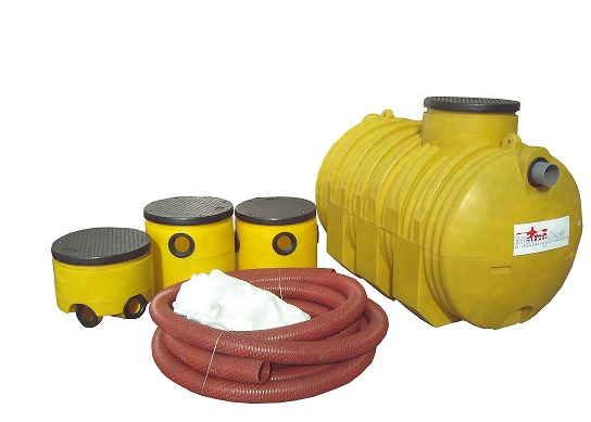 Fosa septica 1250 ltrs mas kit de instalacion for Precio estanque
