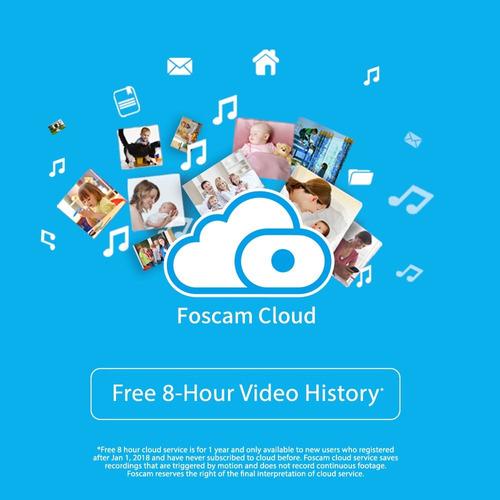 foscam fi9851p cámara domo ip inalámbrica p2p megapíxel de 7