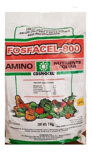 fosfacel fertilizante foliar alto en fosforo uso agricola1kg