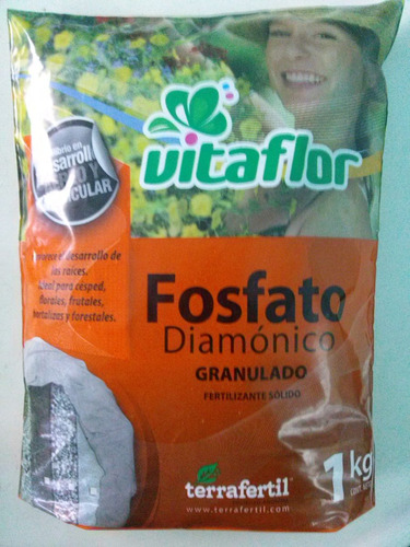 fosfato diamónico vitaflor x 5 kg.