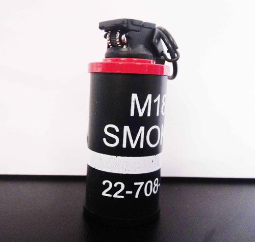 fosforera en forma de granada de humo encendedor skpalace
