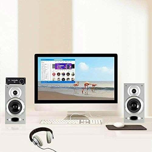 fosi audio - amplificador de audio estereo de 2 canales hi-f