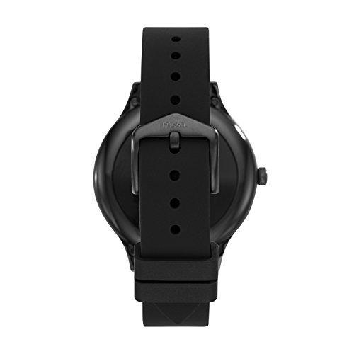 fósil gen 3 smartwatch - q empresa negro silicona ftw6009